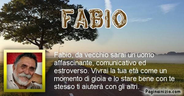 Fabio - Come sarai da vecchio Fabio