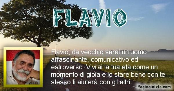 Flavio - Come sarai da vecchio Flavio