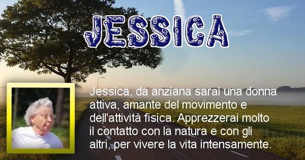 Jessica - Come sarai da vecchio Jessica