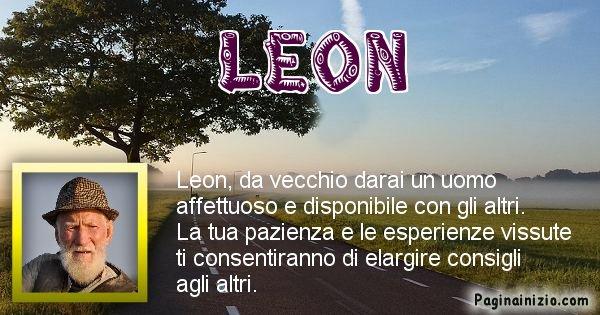 Leon - Come sarai da vecchio Leon