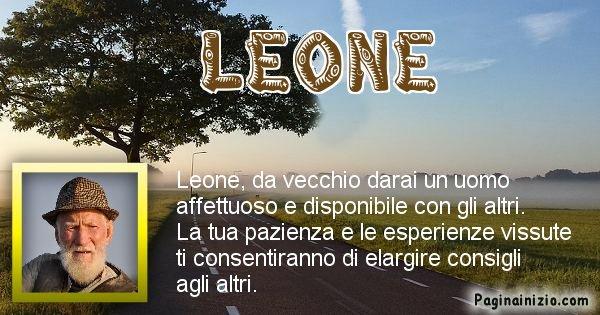Leone - Come sarai da vecchio Leone