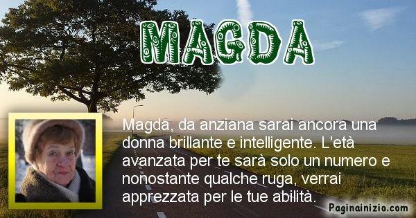 Magda - Come sarai da vecchio Magda
