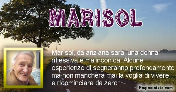 Marisol - Come sarai da vecchio Marisol