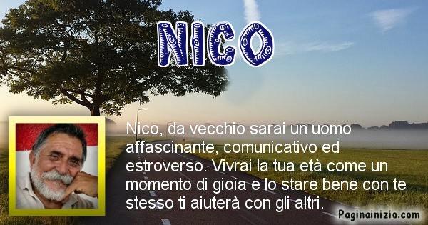 Nico - Come sarai da vecchio Nico