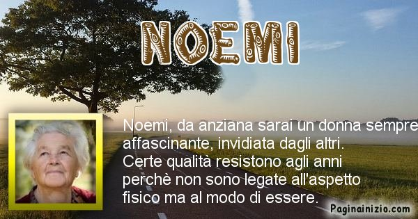 Noemi - Come sarai da vecchio Noemi