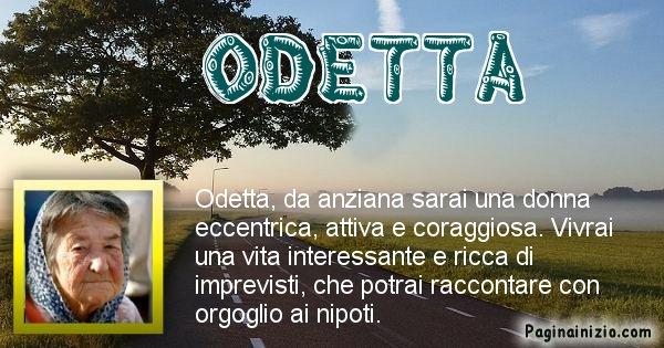 Odetta - Come sarai da vecchio Odetta
