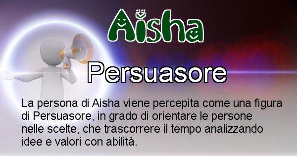 Aisha - Come appari agli altri Aisha