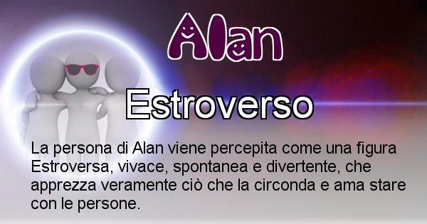 Alan - Come appari agli altri Alan
