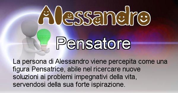 Alessandro - Come appari agli altri Alessandro