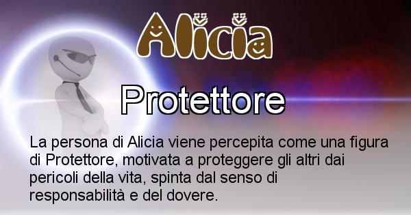 Alicia - Come appari agli altri Alicia
