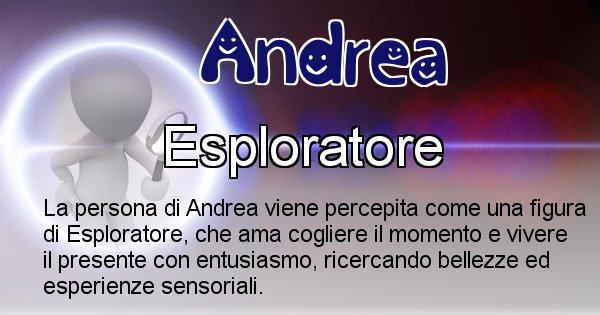 Andrea - Come appari agli altri Andrea