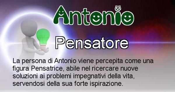 Antonio - Come appari agli altri Antonio