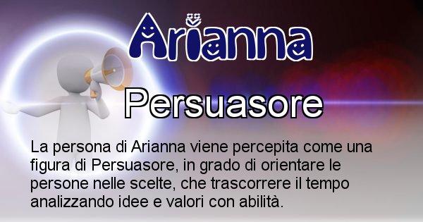 Arianna - Come appari agli altri Arianna