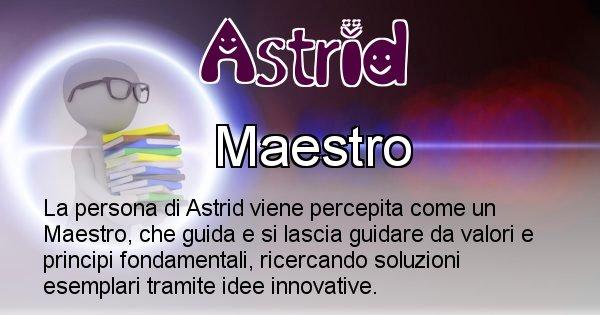 Astrid - Come appari agli altri Astrid