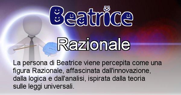 Beatrice - Come appari agli altri Beatrice