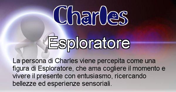 Charles - Come appari agli altri Charles