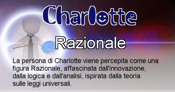 Charlotte - Come appari agli altri Charlotte
