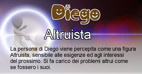 Diego - Come appari agli altri Diego