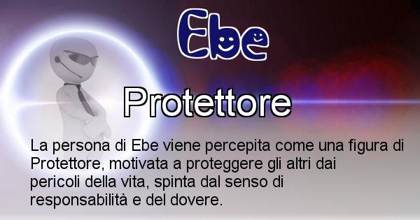 Ebe - Come appari agli altri Ebe