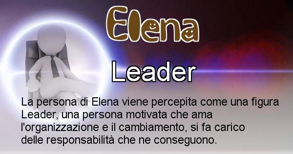 Elena - Come appari agli altri Elena