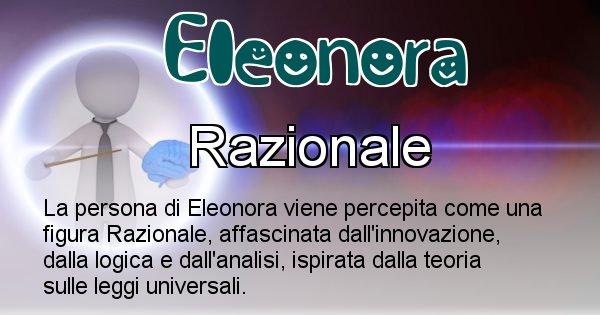 Eleonora - Come appari agli altri Eleonora