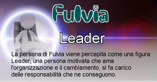 Fulvia - Come appari agli altri Fulvia