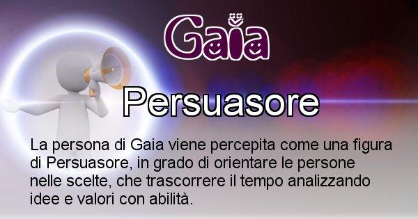 Gaia - Come appari agli altri Gaia