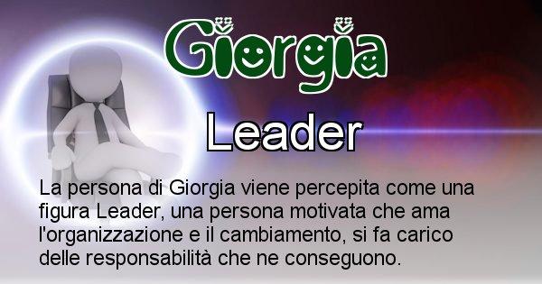 Giorgia - Come appari agli altri Giorgia