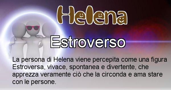 Helena - Come appari agli altri Helena