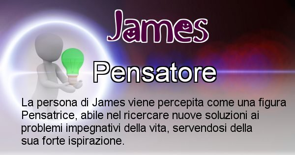 James - Come appari agli altri James