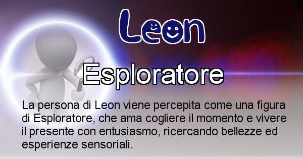 Leon - Come appari agli altri Leon