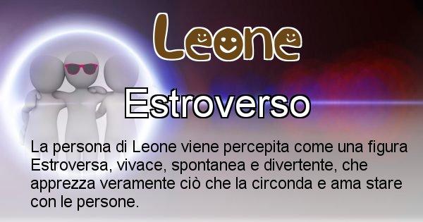 Leone - Come appari agli altri Leone