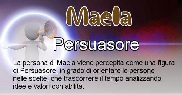 Maela - Come appari agli altri Maela