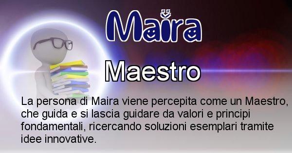 Maira - Come appari agli altri Maira