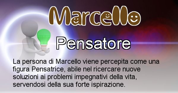 Marcello - Come appari agli altri Marcello