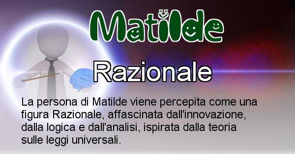 Matilde - Come appari agli altri Matilde
