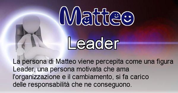 Matteo - Come appari agli altri Matteo