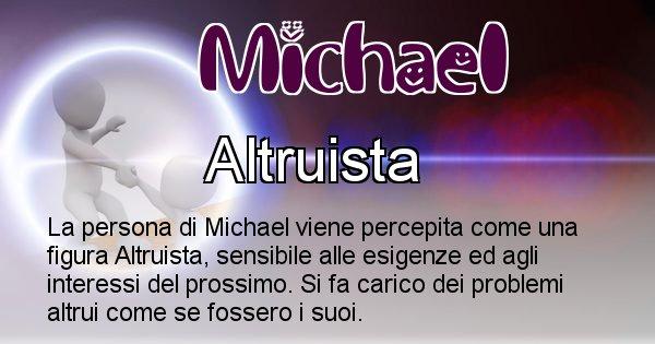 Michael - Come appari agli altri Michael