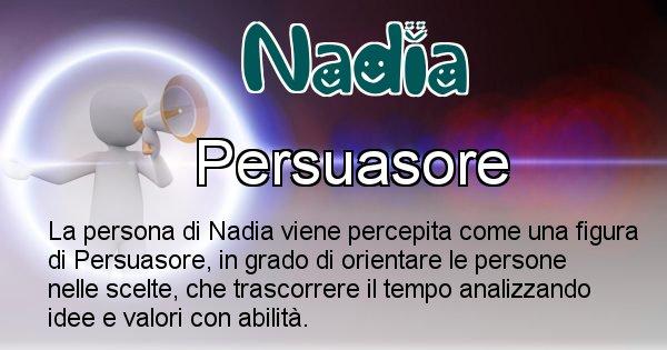 Nadia - Come appari agli altri Nadia
