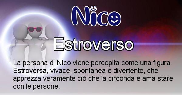 Nico - Come appari agli altri Nico