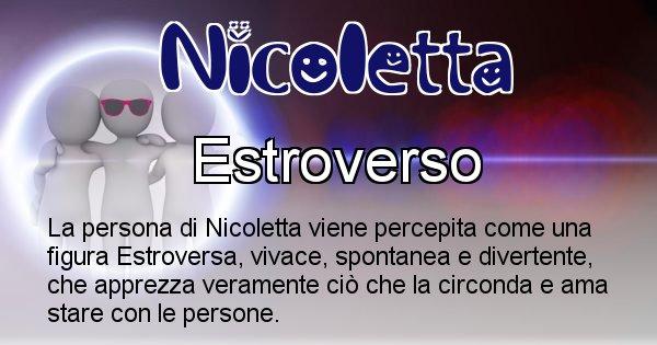 Nicoletta - Come appari agli altri Nicoletta