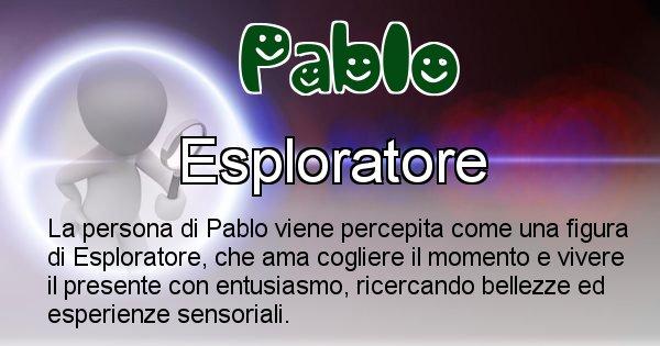 Pablo - Come appari agli altri Pablo
