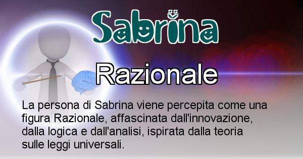 Sabrina - Come appari agli altri Sabrina