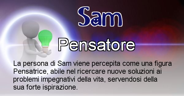 Sam - Come appari agli altri Sam