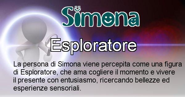 Simona - Come appari agli altri Simona