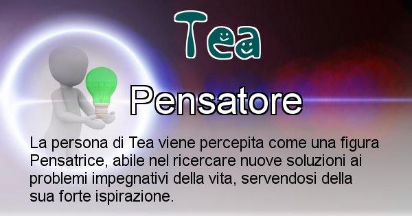 Tea - Come appari agli altri Tea