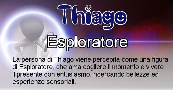 Thiago - Come appari agli altri Thiago