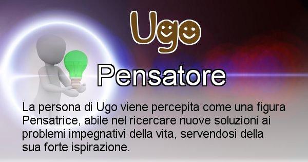Ugo - Come appari agli altri Ugo