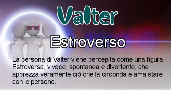 Valter - Come appari agli altri Valter