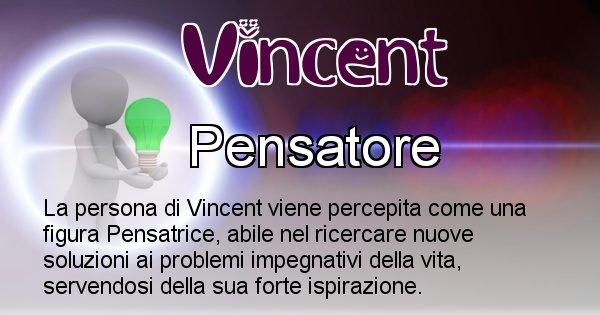 Vincent - Come appari agli altri Vincent
